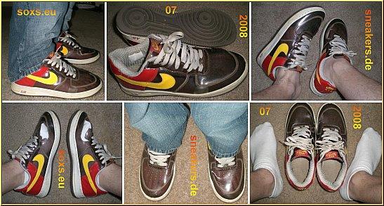 NIKE AIR MAX Classic BW Sneaker Gold Gr. 43 gay fertig defekt